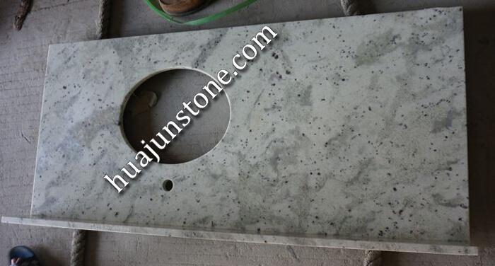 Andromeda White Granite Vanity Tops
