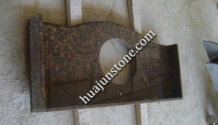 Baltic Brown Granite Vanity Tops