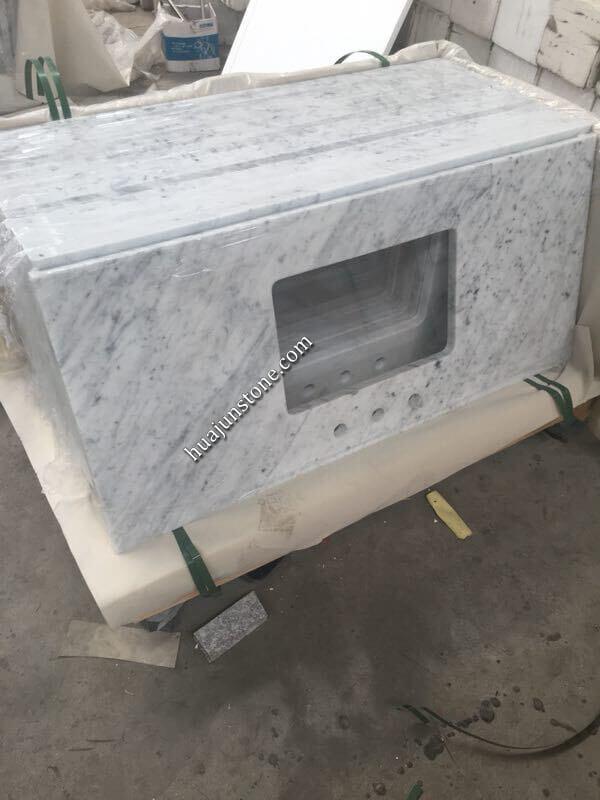 Bianco Carrara Vanity Tops
