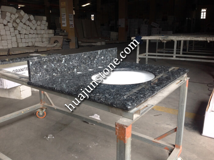 Blue Pearl Granite Vanity Tops