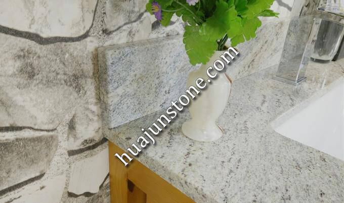 Cashmere White Granite Vanity Tops