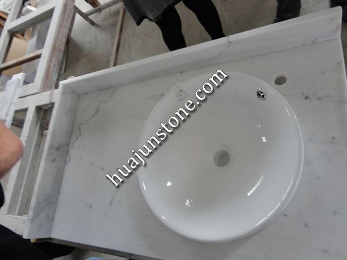Guangxi White Vanity Tops