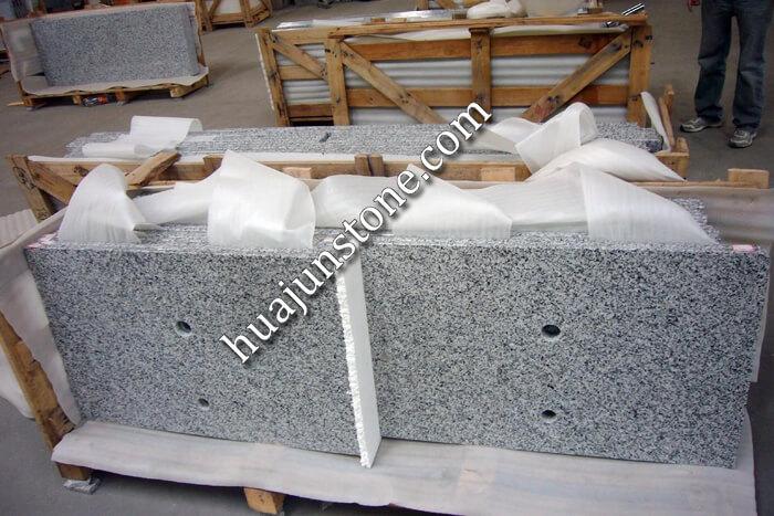 Luna Pearl G640 Granite Vanity Tops