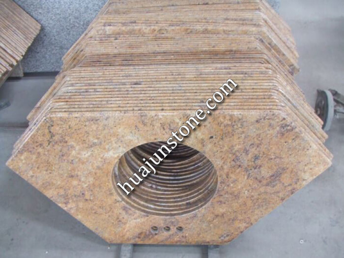Madura Gold Granite Vanity Tops
