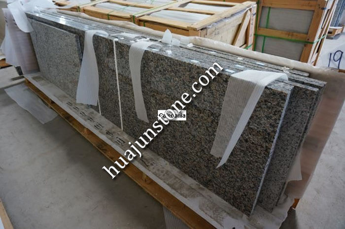 New Caledonia Granite Vanity Tops