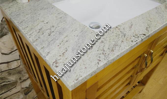 New Kashmire White Granite Vanity Tops