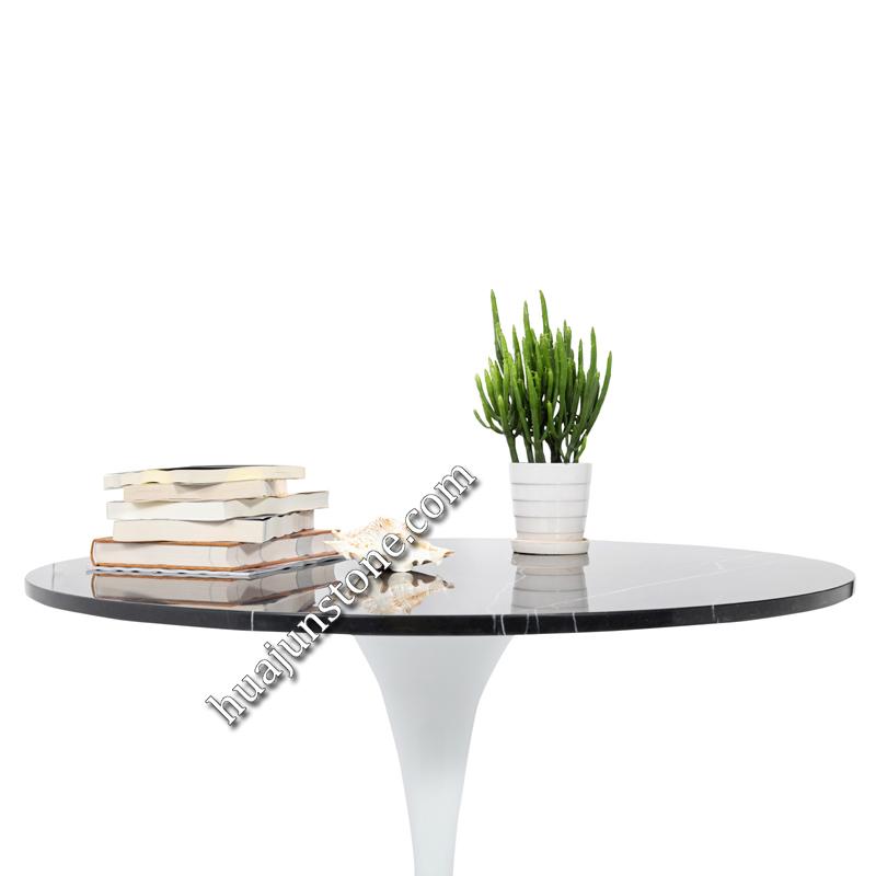 Nero Margiua Round Table Tops