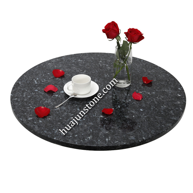 Blue Pearl Round Table Tops