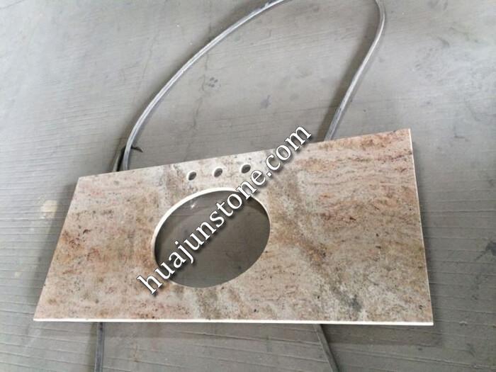 Shivakashi Yellow Granite Vanity Tops
