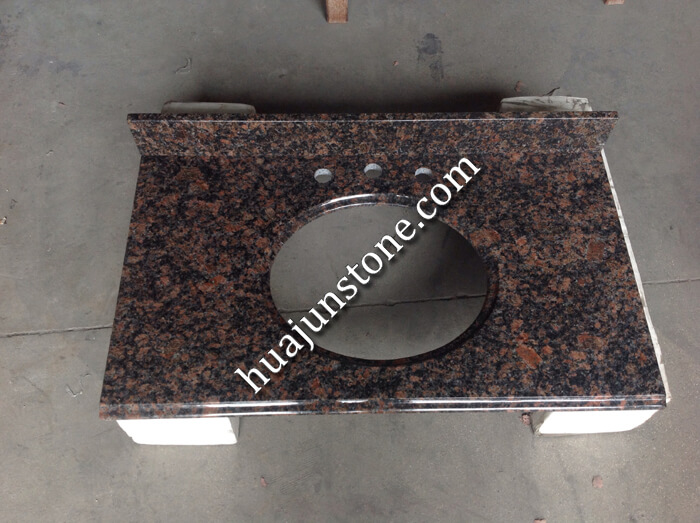 Tan Brown Granite Vanity Tops
