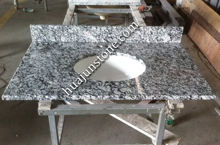 White Oyster Vanity Tops