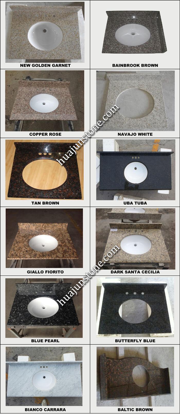 Hot Sale Products Of Bathroom Vanity Tops
